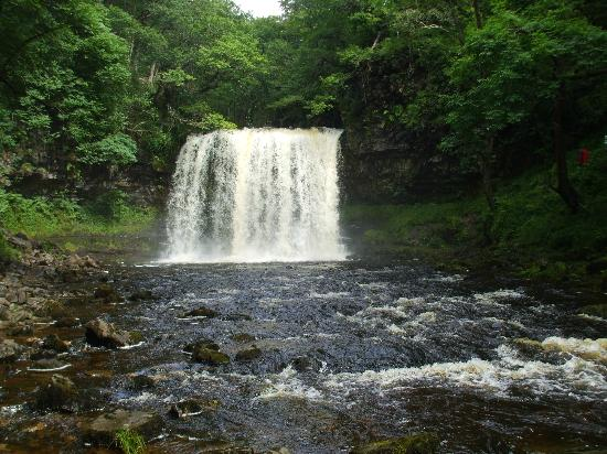 Beili Helyg Guest House: Sgwd yr Eira - the waterfall you can walk behind - which you can reach on foot from the B+B