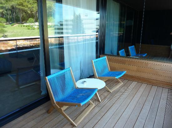 Hotel Lone: Balkon