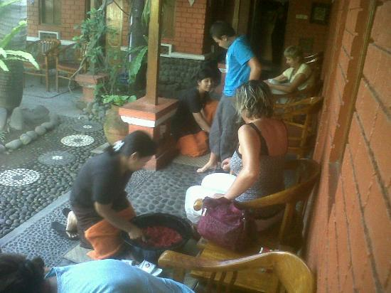 Anika Spa : foot bath