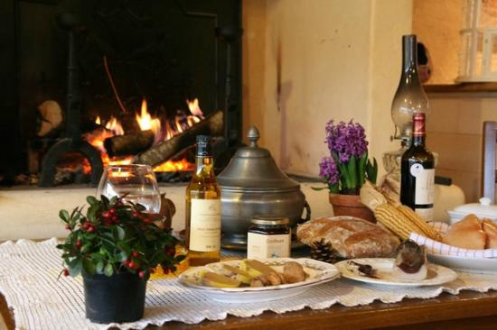 Domaine de la Rhonie : Cuisine gastronomique