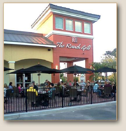 The Ranch Grill Outside Dinning