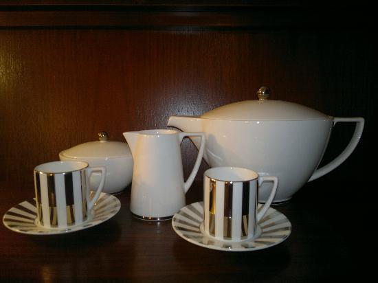 Enterkine House Hotel: Nice detail shame about only having Nescafe sticks and 1 tetley tea bag