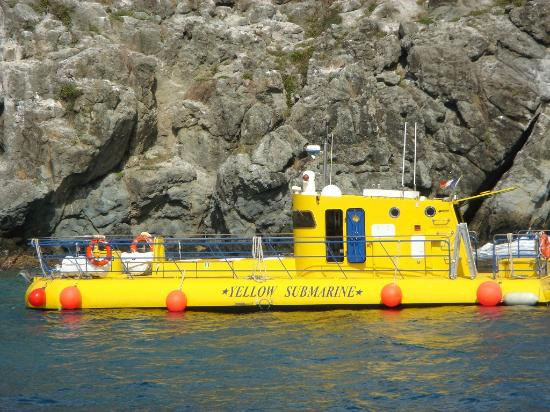 Excursões submarinas