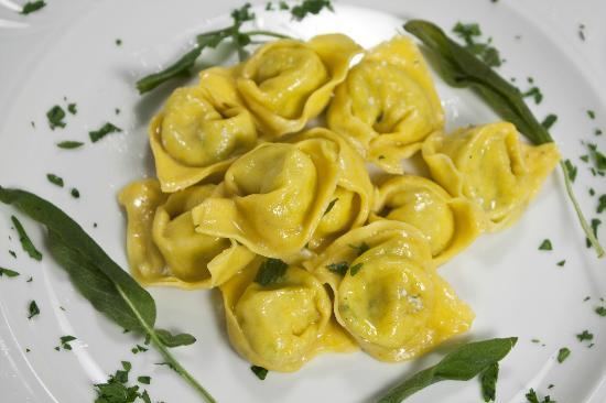 Hotel San Marco Sestola: Tortelloni Burro e Salvia