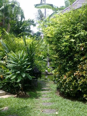 Nora Beach Resort and Spa: Beautiful gardens