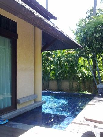 Nora Beach Resort and Spa: Your own spacious private pool and lounging area in the Pool Villa