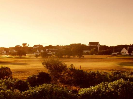 Milkwood Country Cottage : View of the golf course from your room