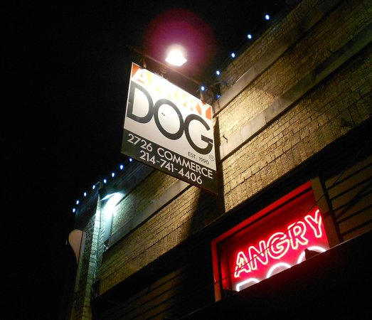 Photo of American Restaurant Angry Dog at 2726 Commerce St, Dallas, TX 75226, United States
