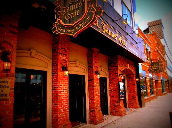 St James Gate Pub & Restaurant: St. James Gate Charlottetown
