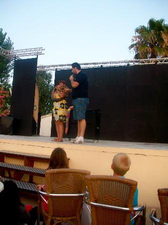 Valentin Playa de Muro: rettile show