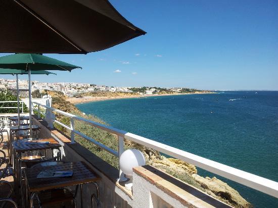 Iguana Cafe: Vista do terraço principal