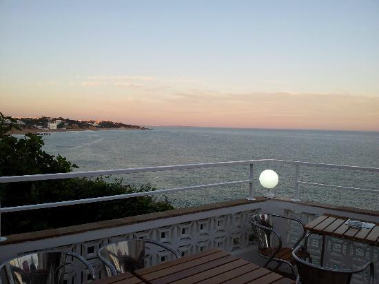 Iguana Cafe: Vista do terraço