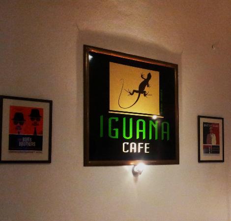 Iguana Cafe: Sala