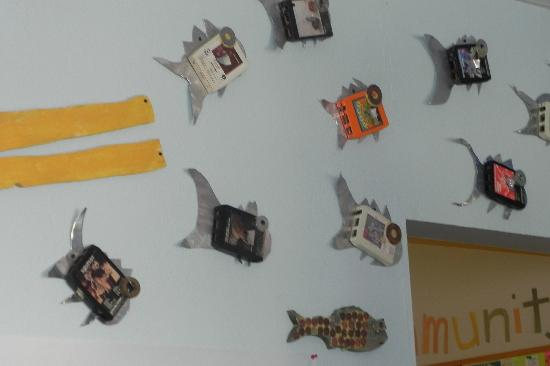 Children at Play Museum: decorations on the wall