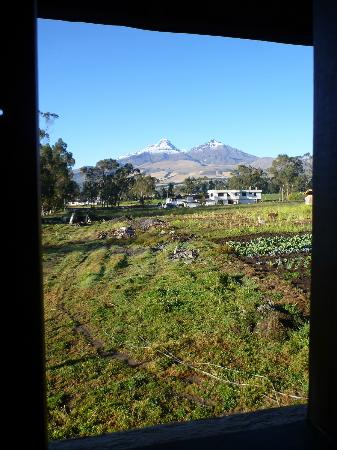 Chuquiragua Lodge & Spa: The view, as seen from our room - incredible!