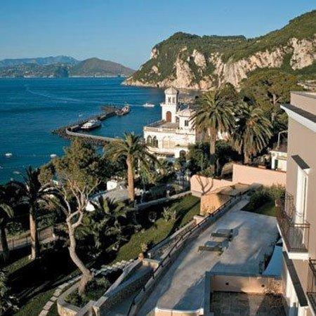 Villa Marina Hotel & Spa: hotel position seaview