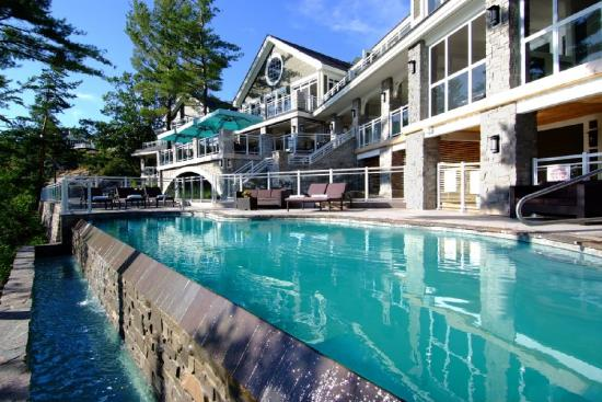 Touchstone on Lake Muskoka: Pool Main Copy