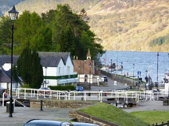 Bank House B&B: View to the Loch Ness