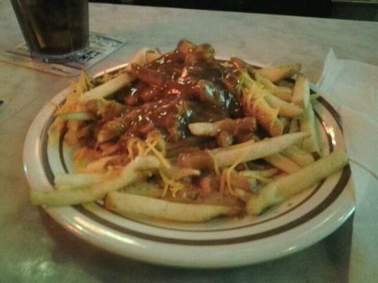 Acme Oyster House: Famous Boo Fries, cheese and gravy from roast beef