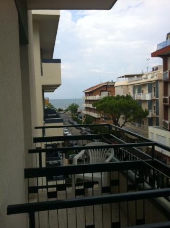 Hotel Viscount : Dal balcone dell'hotel