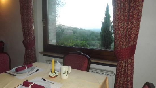 Hotel Vecchia Oliviera: Vista salão café da manhã