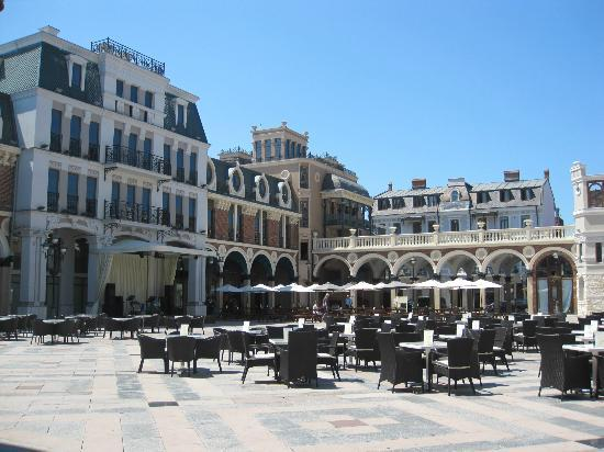 Piazza in Batumi