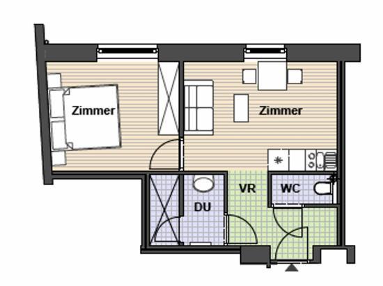 TOWNS Apartments: Superior 1 Bedroom Apartment