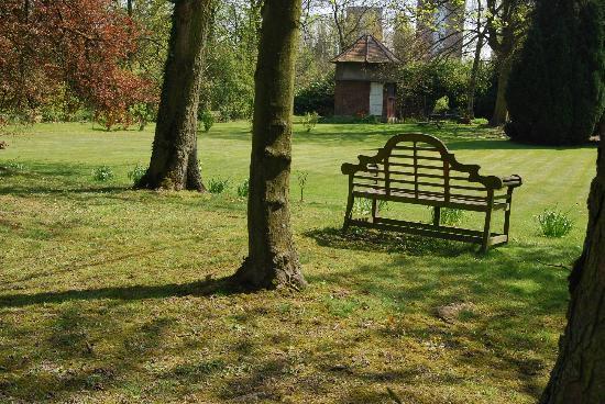 Le Château des Ormes : le parc