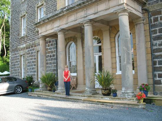 Nanteos Mansion: front entrance
