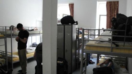 Frankfurt Hostel: 10 bed hostel room