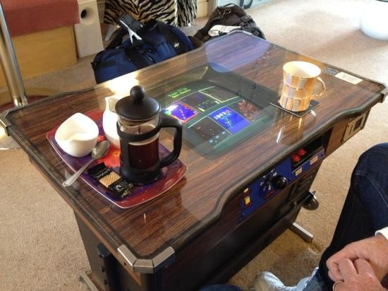 Awesome Tv Game Coffee Table Picture Of The Kenley Blackpool