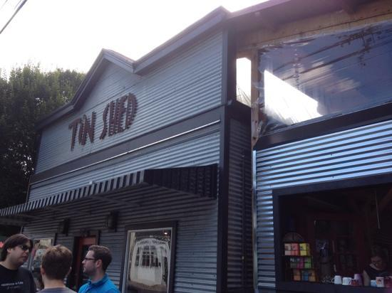 Tin Shed Cafe - Picture of Tin Shed Cafe, Portland ...