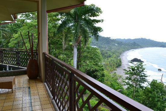 Arenas del Mar Beachfront and Rainforest Resort, Manuel Antonio, Costa Rica : View from Room 703A - AMAZING!