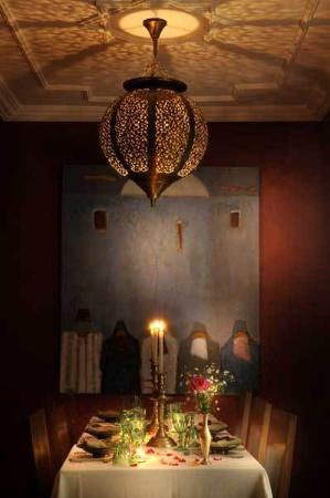 Riad les Hibiscus: DINING ROOM
