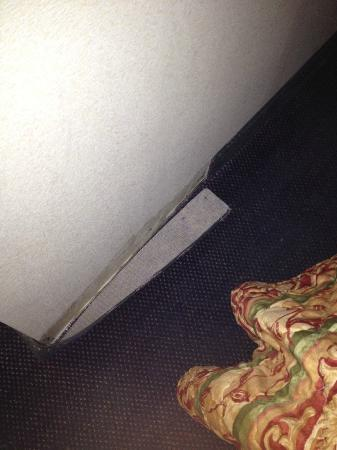 Days Inn Morehead: ripped up carpet