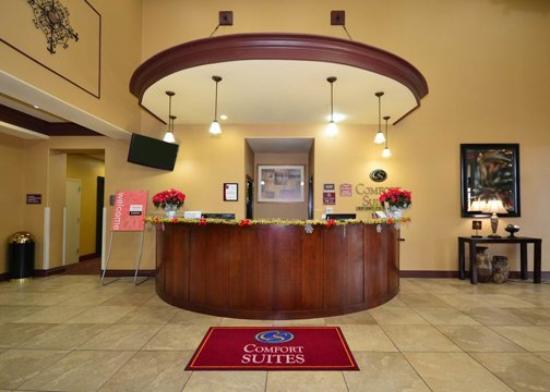 Comfort Suites North: Reception Desk