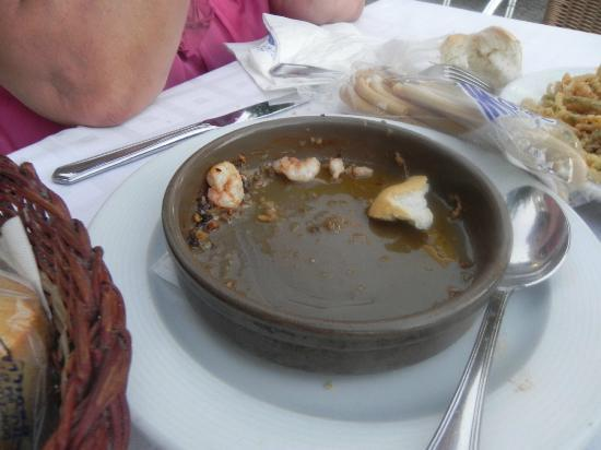 Bar Modesto : Gambas al Ajillo - soo good I forgot to get a picture until almost finished!