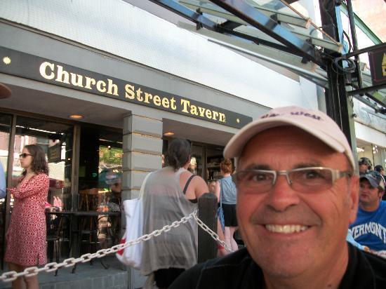 Church Street Tavern: terrasse de la taverne