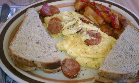 Seven Seas: Egg linguica scramble