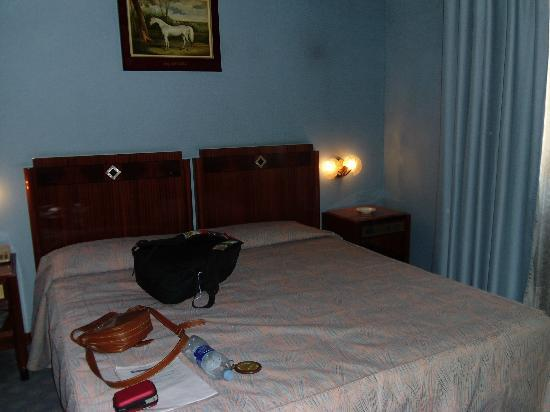 Hotel Bocconi: la cama