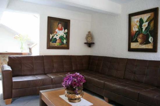 Hotel Antigua: Lobby