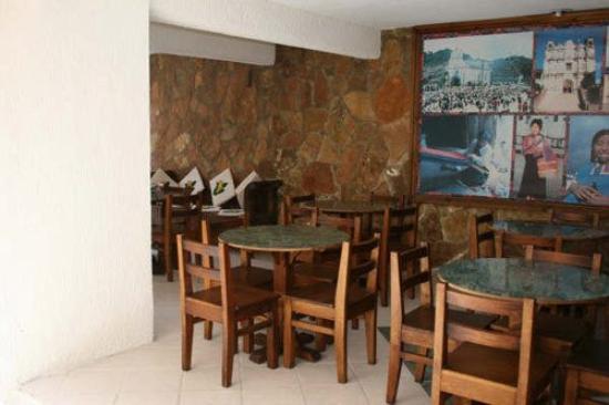 Hotel Antigua: Restaurant