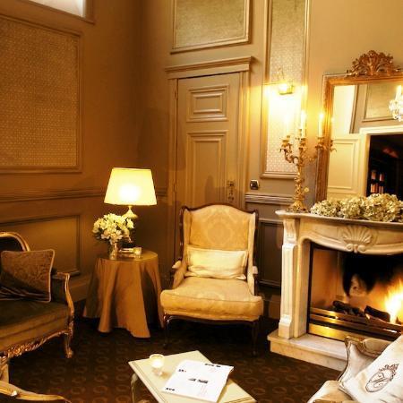 Hotel Heritage - Relais & Chateaux: Lounge salon area