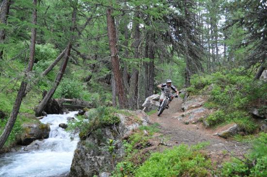 Guide Mountainbike Livigno: Valle delle mine