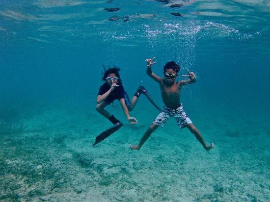 Wakatobi Dive Resort: kids having fun!