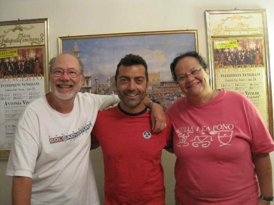 Bed and Breakfast Corte Campana: Riccardo and us!