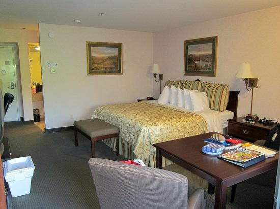 BEST WESTERN PLUS Inn at the Vines: Very spacious room and sitting area