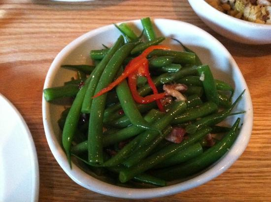 Alta Strada: Spicy Green Beans with Prosciutto