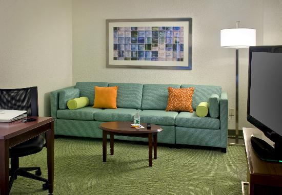 SpringHill Suites Danbury: Suite Living Area