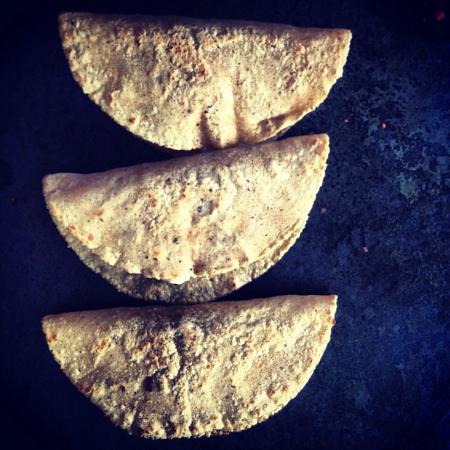 Barbacoa Santiago : quesadillas
